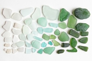sea glass (mermaid tears)