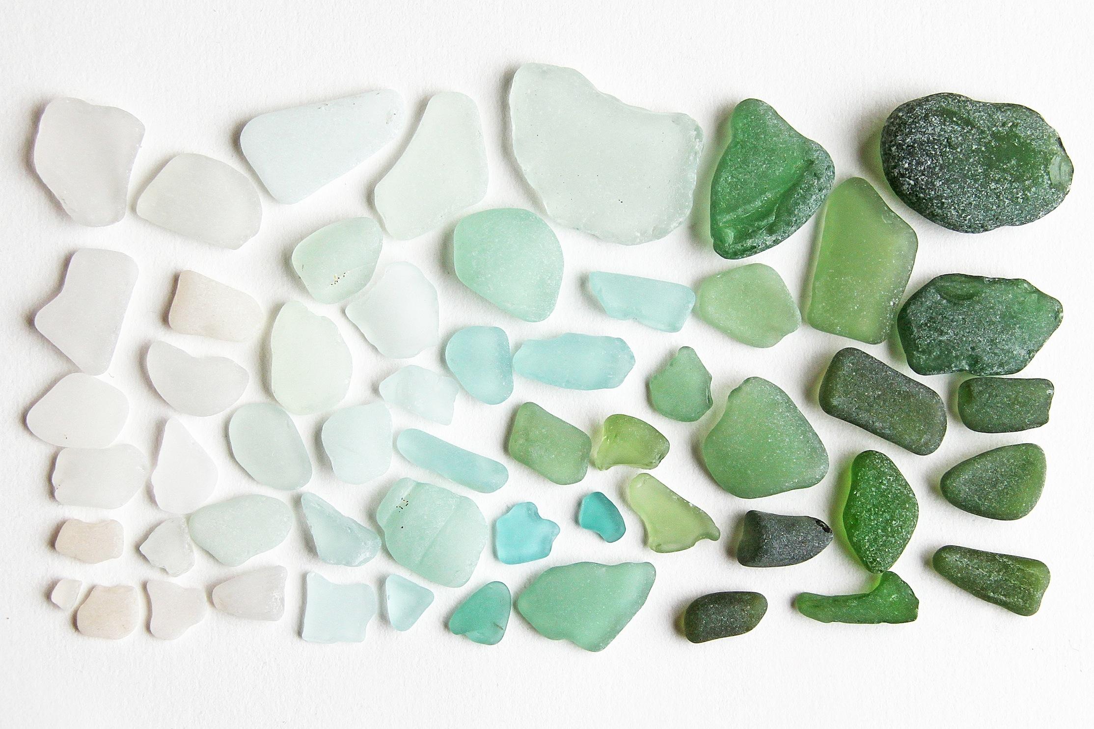 sea glass (mermaid tears)