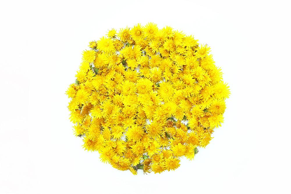 a platter of pollen