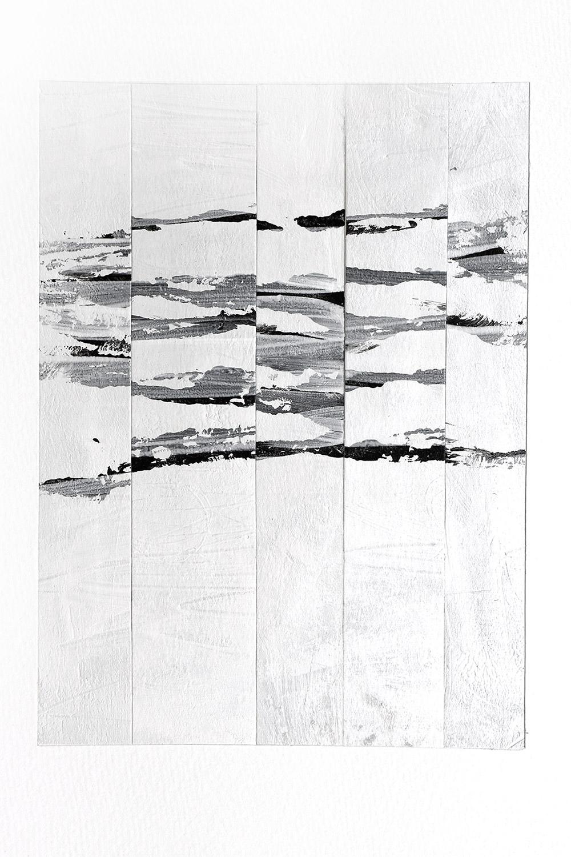 black stripe collages 2