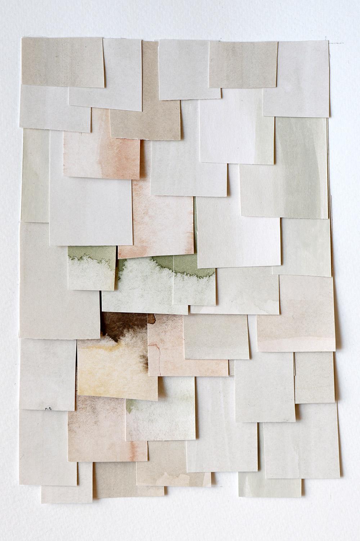 shingled collage: white