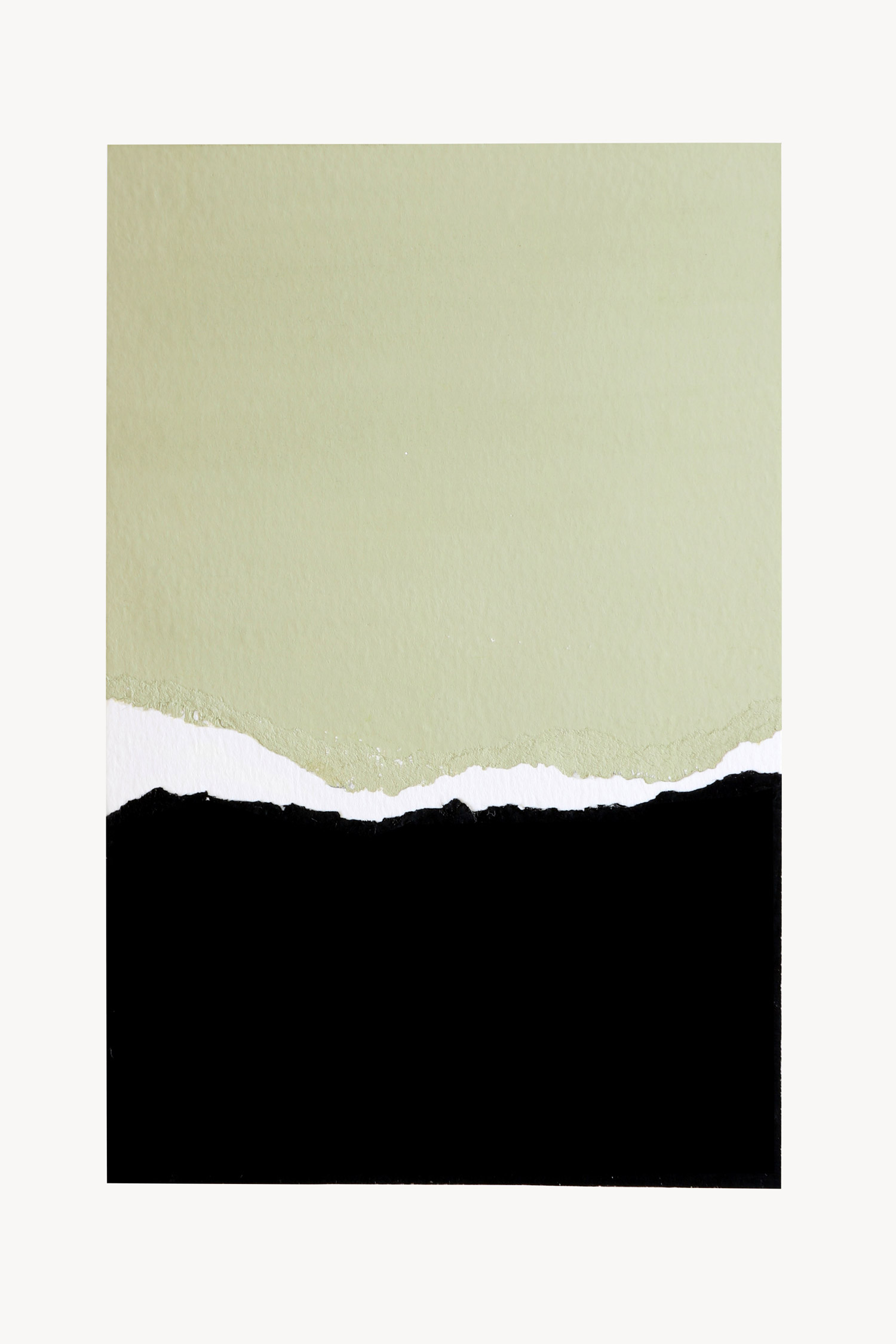 abstract horizon collage, no. 5