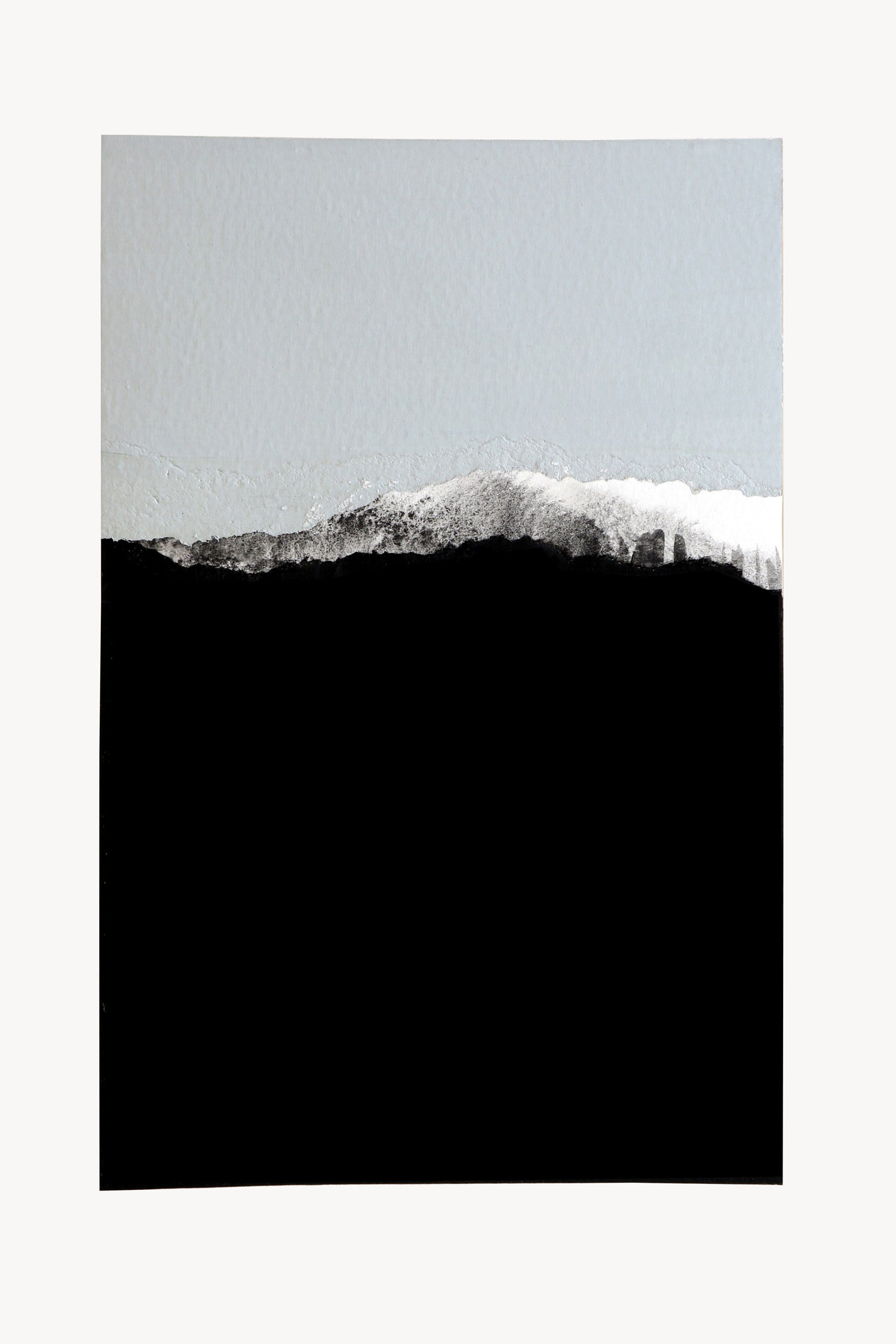 abstract horizon collage, no. 6