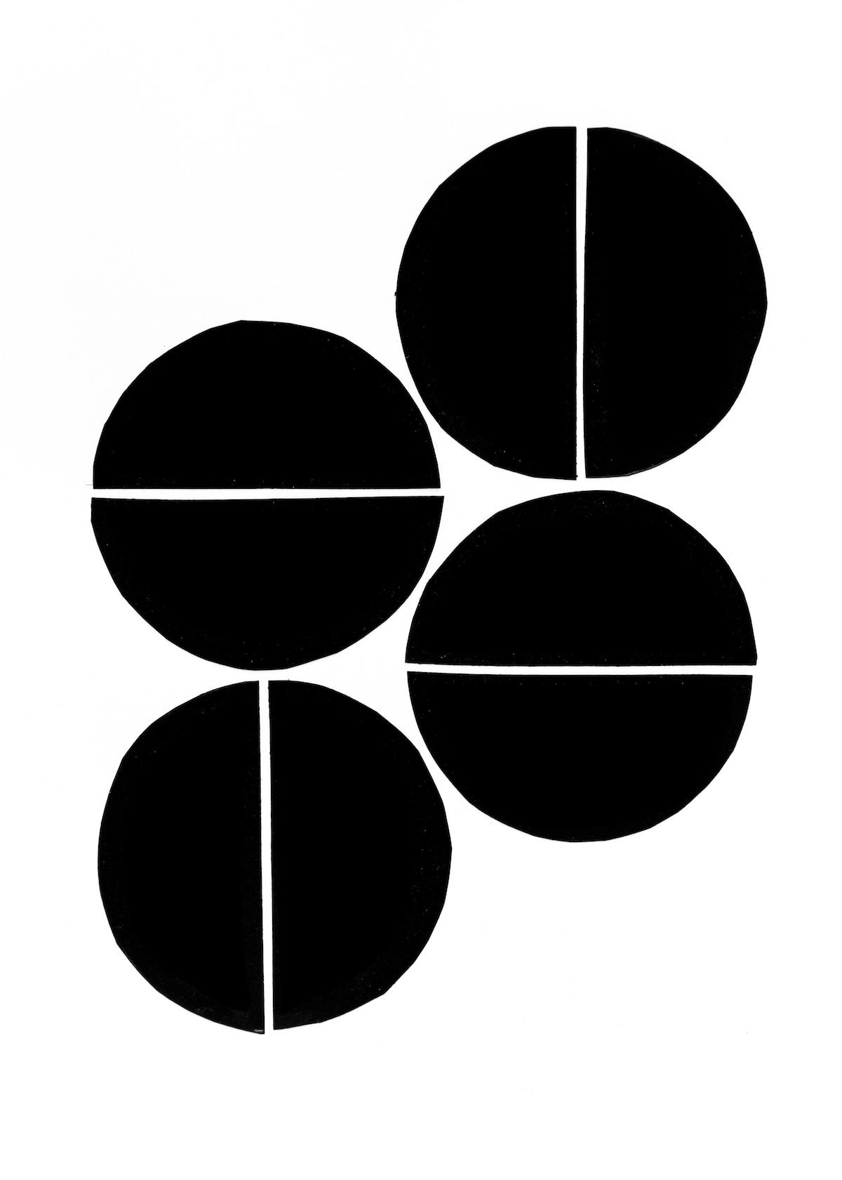 modern minimalism collage series, no. 1