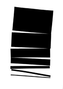 modern minimalism collage series, no. 3