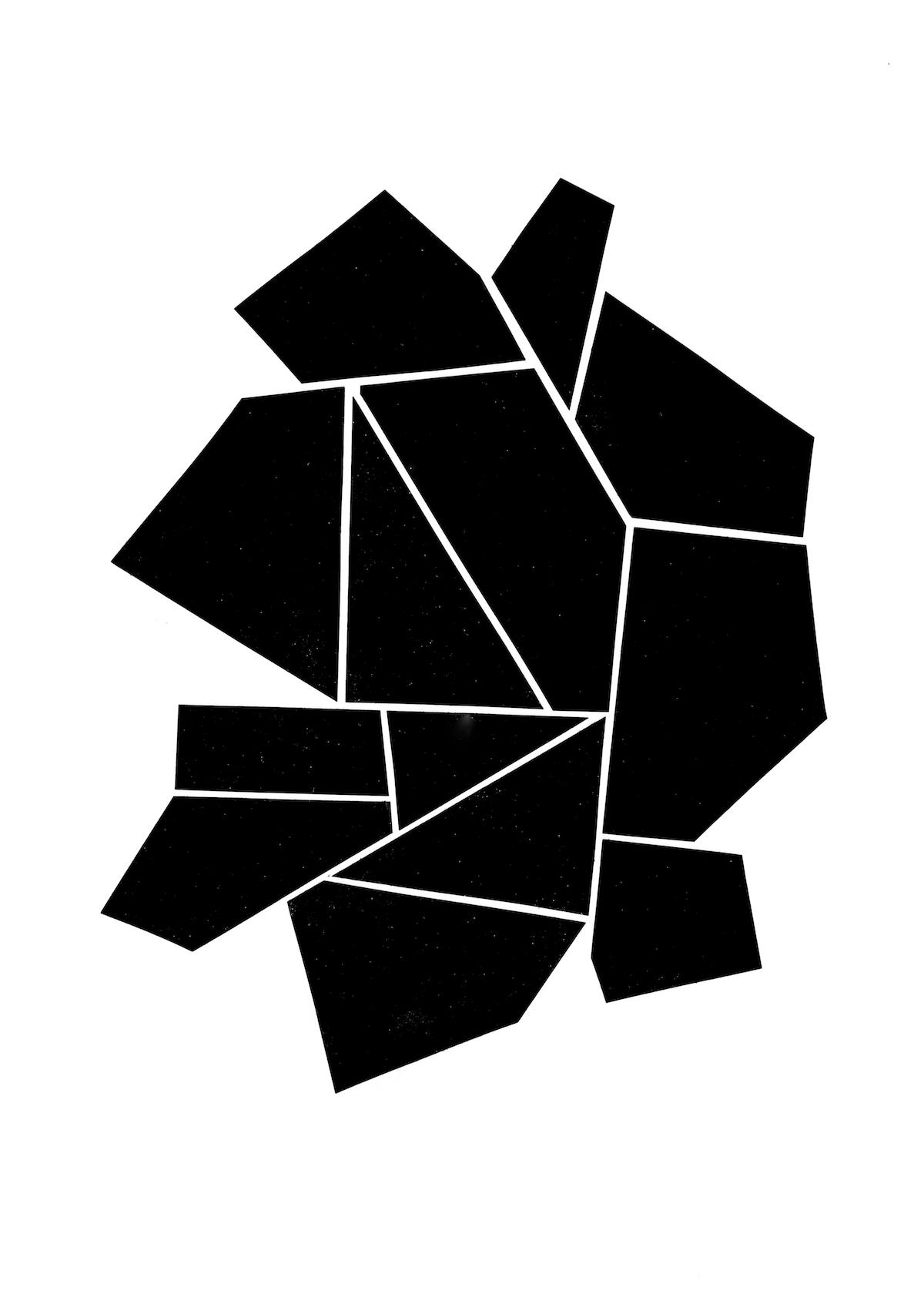 modern minimalism collage series, no. 5