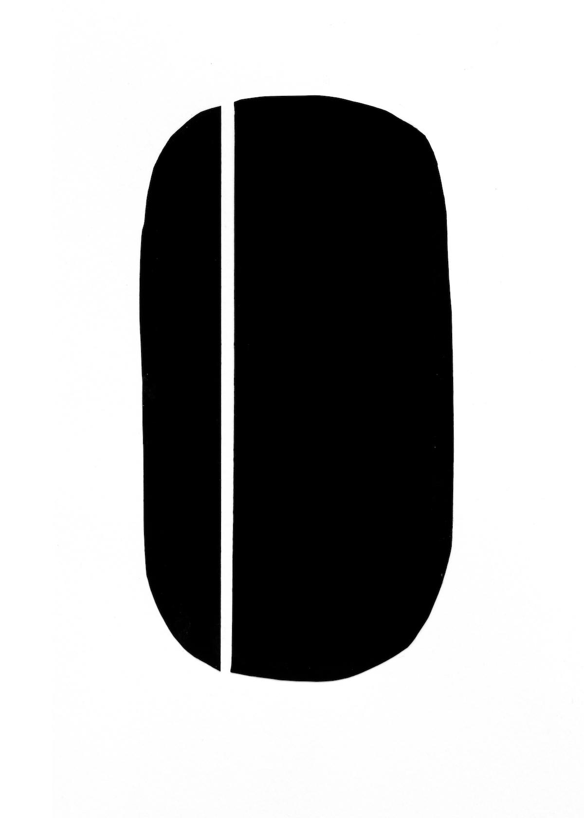 modern minimalism collage series, no. 6