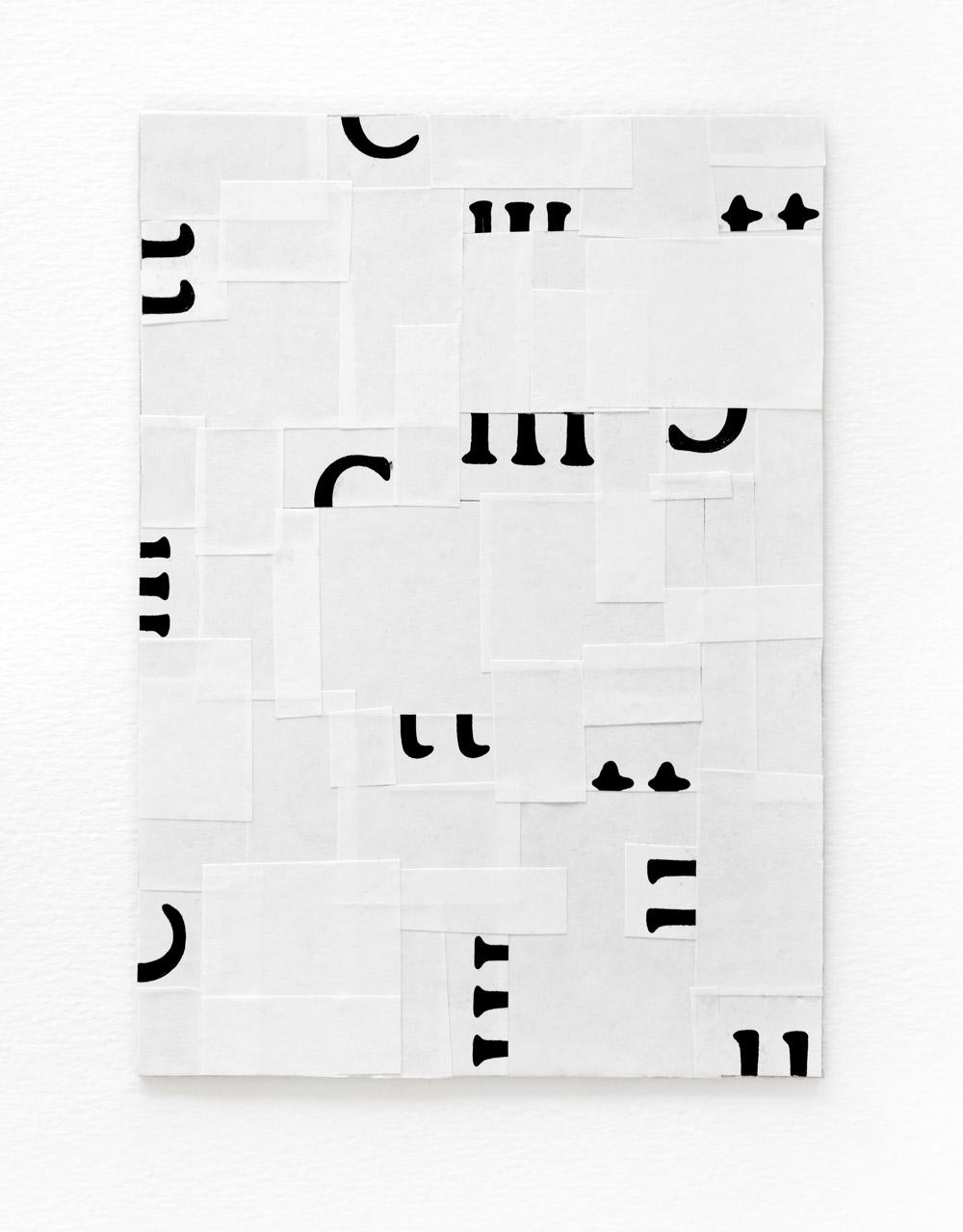 typographic collage series, no. 5