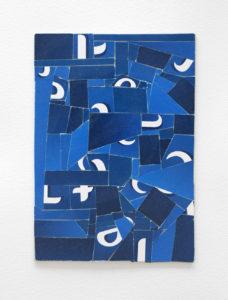 typographic collage series, no. 6 (tetley tea)