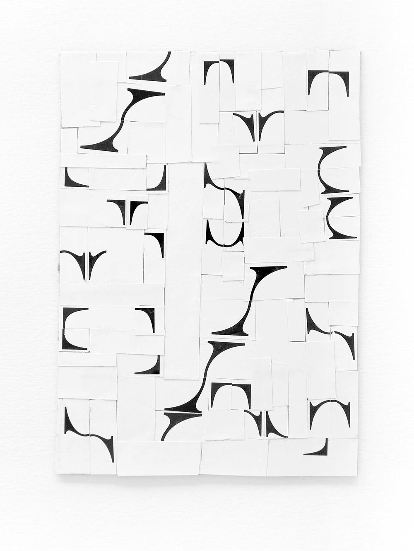 typographic collage series, no. 1