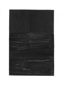 inspired by pierre soulages, no. 1