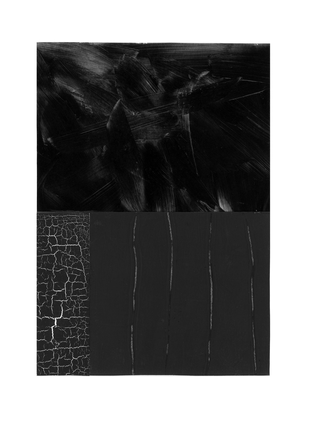 inspired by pierre soulages, no. 2