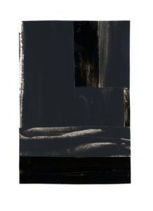 inspired by pierre soulages, no. 3