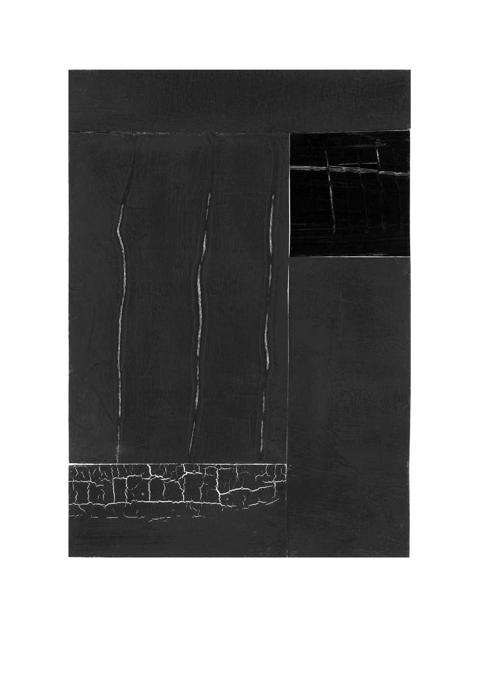 inspired by pierre soulages, no. 4