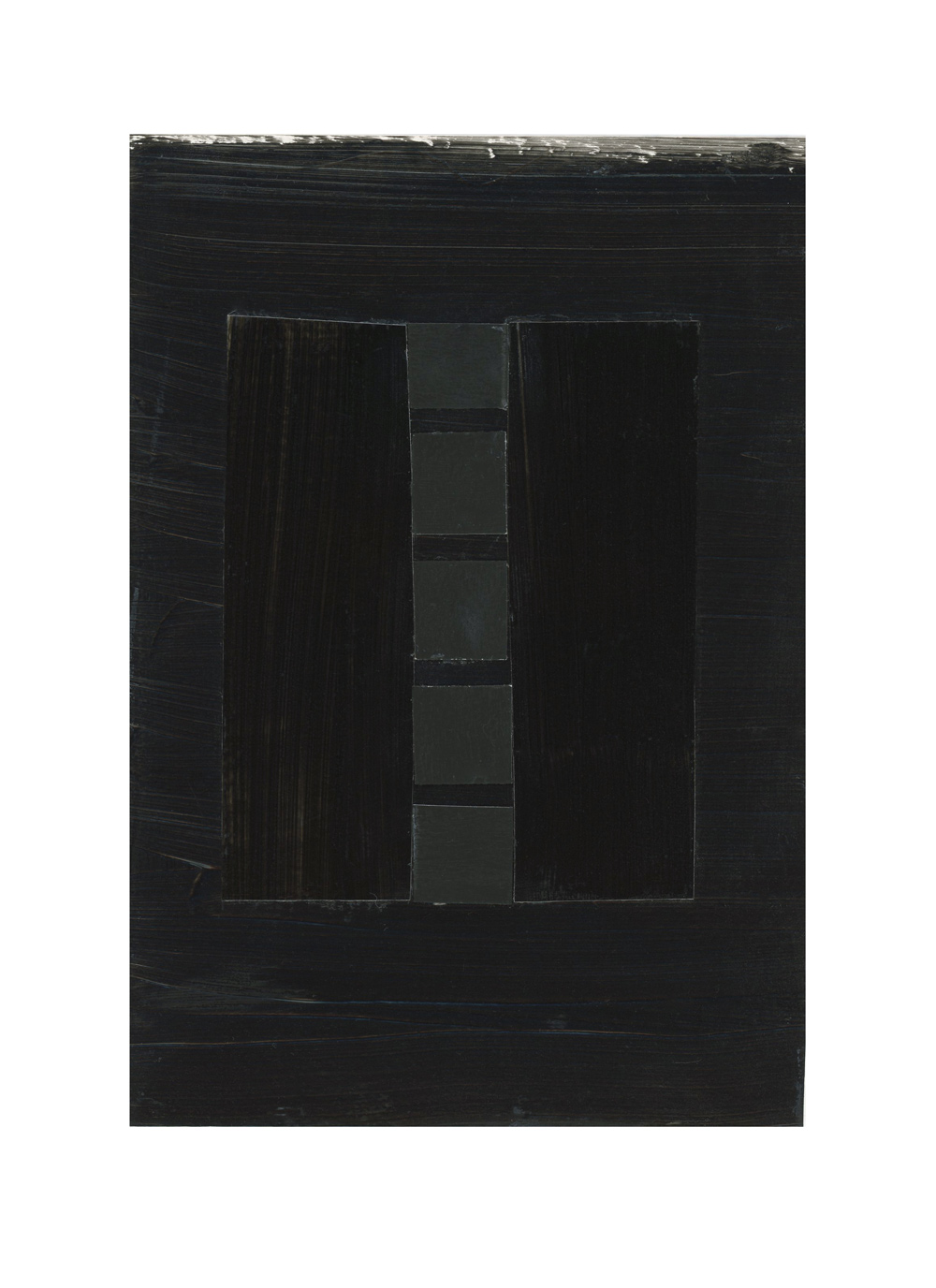 inspired by pierre soulages, no. 5