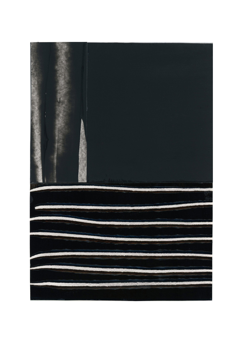 inspired by pierre soulages, no. 6