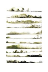 bleeding edges collage series, collage no. 1