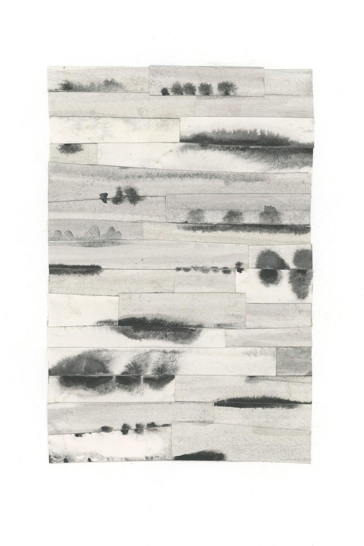 bleeding edges collage series, collage no. 5