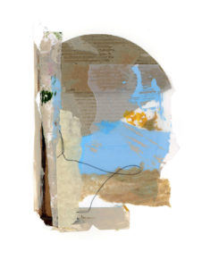 motherwell inspired series, collage no. 3