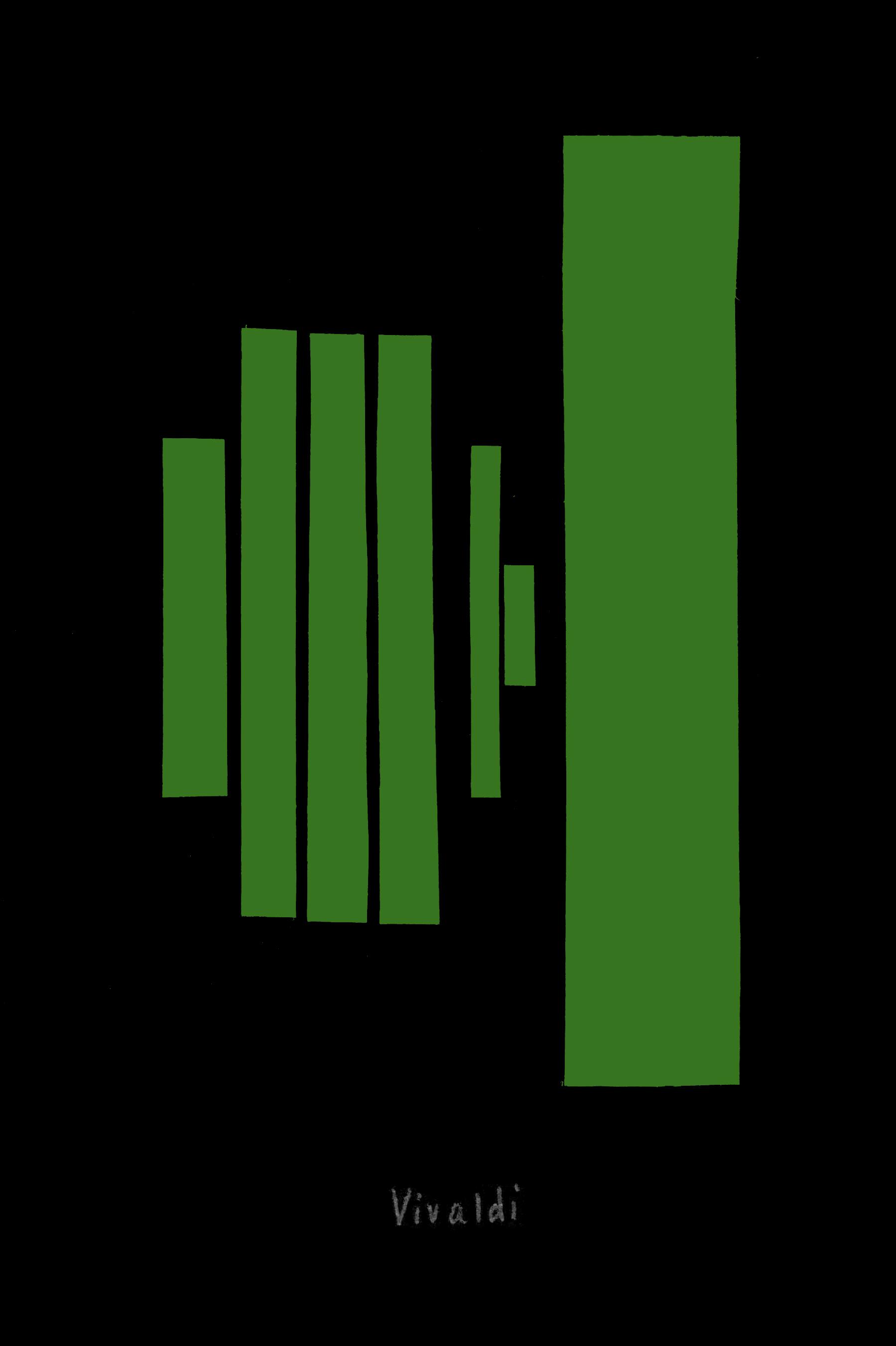 classical composer series, collage no. 2 Vivaldi