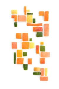 citrus colored mondrian